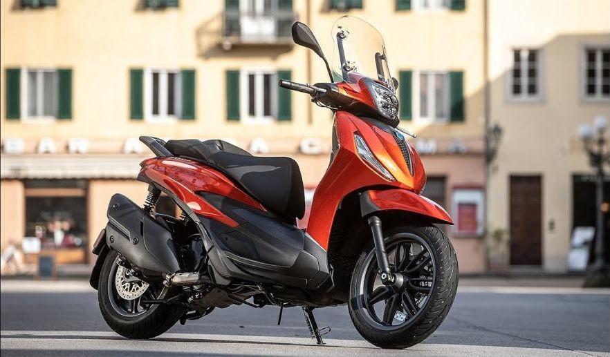 Piaggio Beverli 400S probna vožnja