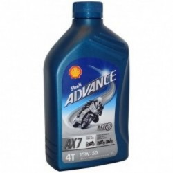 SHELL ADVANCE AX7 15W50